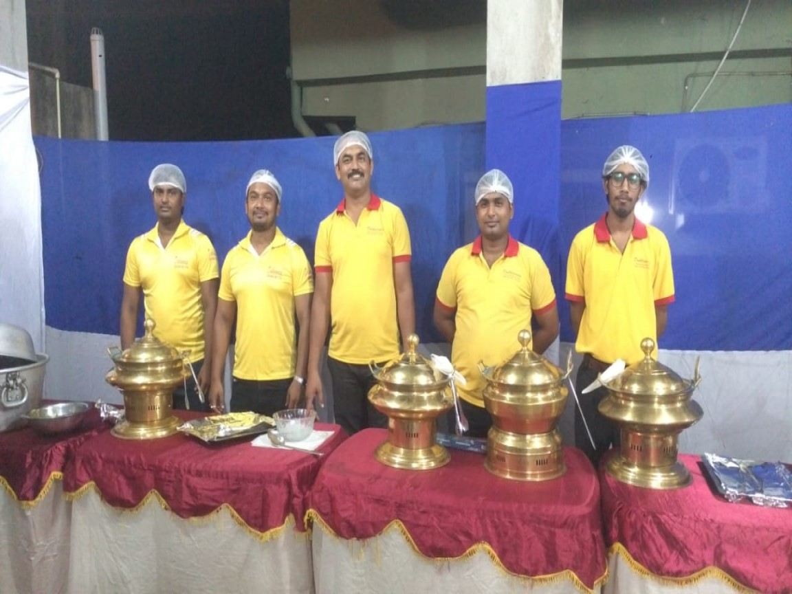 Catering for Grihaprobesh - 150 heads on 02/08/2019